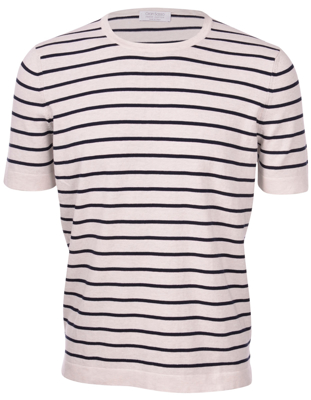 Picture of STRIPED KNIT T-SHIRT