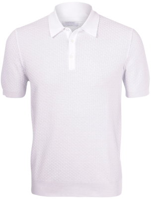 Picture of KNIT POLO BRICK STITCH