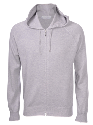 Picture of CASHMERE AND COTTON HOODIE