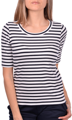 Picture of STRIPED RIBBED T-SHIRT