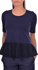 Picture of JERSEY T-SHIRT WITH SILK DETAIL