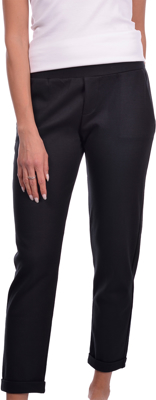 Picture of STRETCH COTTON JERSEY TROUSERS