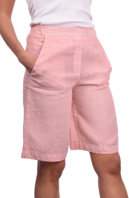 Picture of VINTAGE LINEN BERMUDA SHORTS
