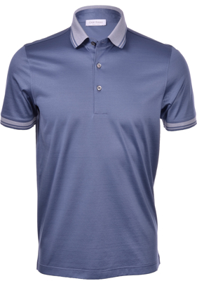 Picture of MERCERIZED COTTON JERSEY POLO